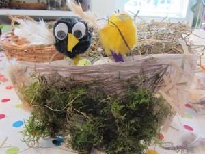 Birds nest by child resized
