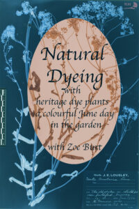 Natural Dyeing in the SLBI Garden